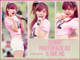 Sunny (SNSD) - PHOTOPACK#03 by JeffvinyTwilight