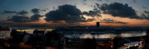 Beograd Panorama by tin2019