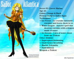 +Justce Scouts+ Sailor Atlantica(Aquaman) by phoenixtsukino