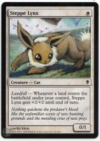 Altered card - Steppe Eevee by JohannesVIII
