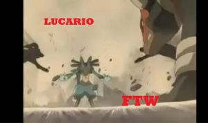 lucario ftw by RaveSolid13
