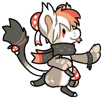 [GIFT] Toad bagbean sticker by Ayinai