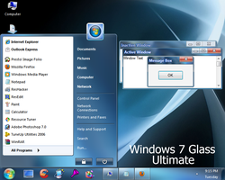 Windows 7 Glass Ultimate by Vher528