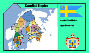 Swedish Empire ( mapping ) by DimLordofFox