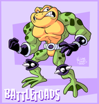 Battletoad by BezerroBizarro