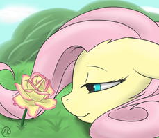 A Delicate Rose by TheZealotNightmare