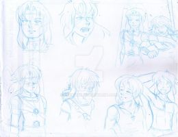 AG  sketches by Reenave