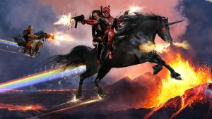 Deadpool king of cool by uncannyknack