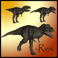 T-Rex by Stock-by-Dana