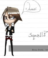 Chibi Squall Leonheart by zimpo