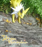 Jolteon - Thunder Eevee 2 by Toshikun