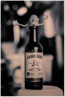 whiskey monster by Albert-Smirnov