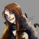 Lily n Kitty WIP Commission by br3nna