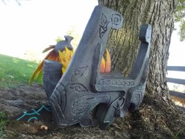 Midna Helm Finished by meanlilkitty
