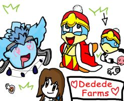 Where Dedede Milk Comes From by KirbyCupcake