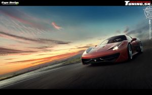 Ferrari 458 Italia by CypoDesign