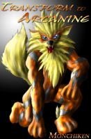Transform into rubber Arcanine by AxelWolf04