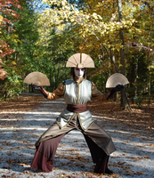 Avatar Kyoshi - Earth Stance by WeAreSevenStudios