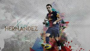 Xavi Hernandez Wallpaper by AlbioNN2