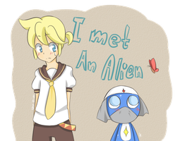 Dororo and Len by Sky-River