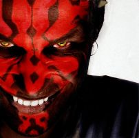 Aphex Twin as Darth Maul by Robotlick