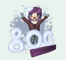 Thank you for 800 hits by Saykee