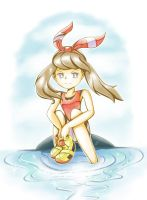 Relaxing in the waters of Hoenn by PokeSonFanGirl