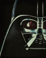 Darth Vader Painting by golfiscool