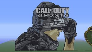 Call Of Duty Ghosts Minecraft Pixel Art by FelixGuaman
