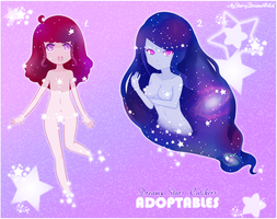 Dreamy Stars Catchers ~ Adoptables (OPEN) by MyStarryDreams