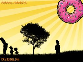 Mmm.... Donuts by cryssielyn