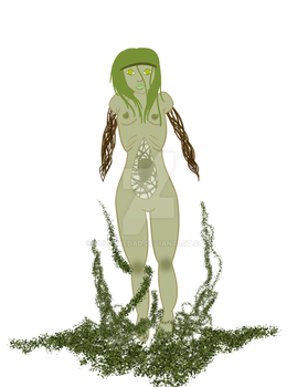 WIP // Swamp/Faerytale Creature by corpsetrashparty