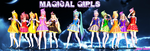 MMD TDA:Magical Girls by AmaneHatsura