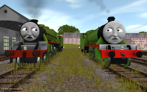 Railway Series meets Television Series: Henry MKII by Rose-Supreme