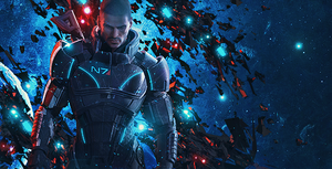 Mass effect by HarDxDESIGN