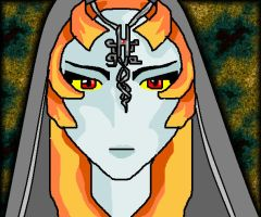 True Form Midna by Midnas