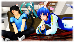 .:MMD:. Neko Love by Vocalkokoro