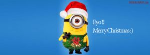Minion-wishes-christmas-facebook-covers by fbcoolcovers