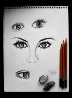 EYES LOL by artsyfartsyness