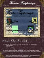 Howrse Newsletter June 6-11th Page One by Thunderbolt-Designs