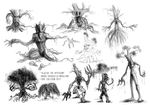 Ajatar the Hyperion concept drawings by warui-shoujo