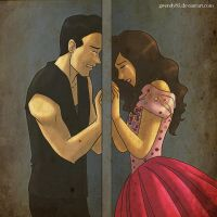 This Wall Between Us - AlDub / MaiDen by gwendy85