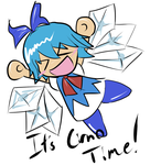 IT'S CIRNO TIME by Minon