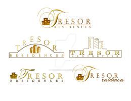 Logo Studies for Tresor by liagiannjezreel