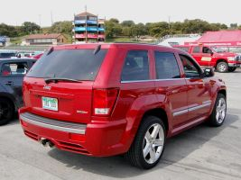 hot rod suv Jeep SRT8 Hemi by Partywave