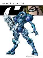 Metroid Blue by zoanoid