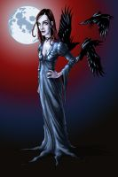My wife...as Morticia by D-Cranford