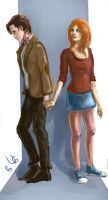 Eleven and Amy by Ardori