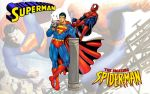 Superman vs Spiderman Arm Wrestling WS 3 by Superman8193