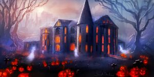 Haunted Mansion by danielwachter